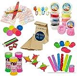 Kindergeburtstag Mitgebsel Set 140 Teile inkl. Geschenktüten Mitgebseltüten   XXL Mitbringsel Set ideal für bis zu 10 Kinder  ...
