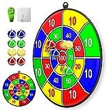 Lbsel Kinderspiel Weihnachten Party Thema Dart Board mit 8 Bällen Kinder Brettspiele Toy-Safe Dart Game-Kinder Geschenk Outdoor...
