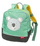 SIGIKID 25201 Mini Rucksack Koala Bags Mädchen und Jungen Kinderrucksack empfohlen ab 2 Jahren grün