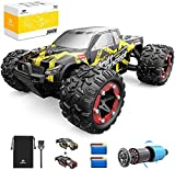 Ferngesteuertes Auto, DEERC RC-Cars 1:18 RC Rennauto 4WD Brushless-Motor, 60 km/h Offroad Truggy Schnell Monstertruck 2.4-GHz,...