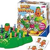 Ravensburger 21556 - Lotti Karotti, Brettspiel für Kinder ab 4 Jahren, Familienspiel für Kinder und Erwachsene,...