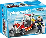 PLAYMOBIL City Action 5398 Feuerwehrkart, Ab 4 Jahren