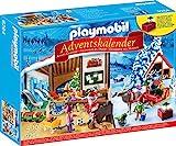 Playmobil Adventskalender 9264 Wichtelwerkstatt mit funktionsfähiger Laterne, weihnachtlichen Figuren und Zubehörteilen, Ab 4...