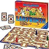 Ravensburger Familienspiel 26446 - Das verrückte Labyrinth - Kinder- und Gesellschaftsspiel, für Kinder und Erwachsene, 2-4...