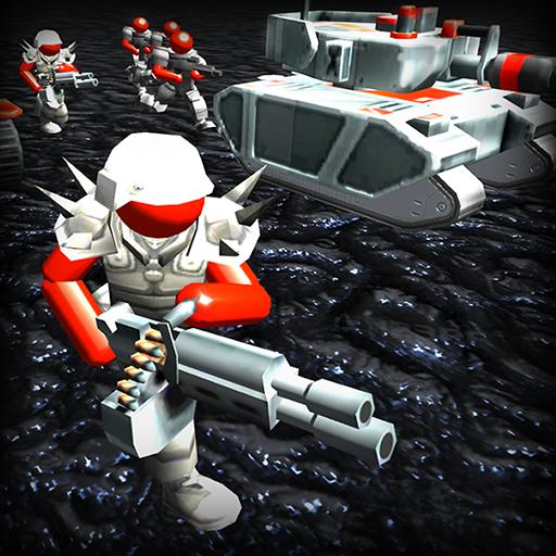 Kampfsimulator: Strichmännchen vs. Außerirdische