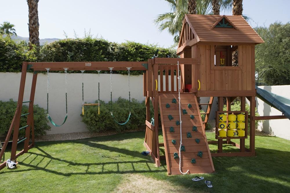 Spielturm Garten