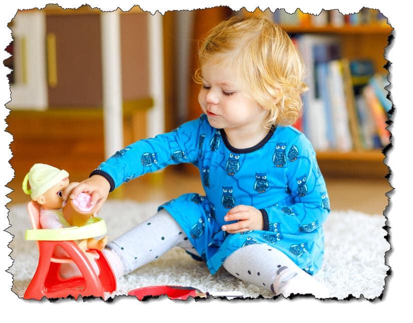 Spielzeug - 2-jährige Mädchen