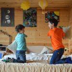 Das Kinderbett - Kuschelinsel, Schlafplatz und Spielhöhe in einem