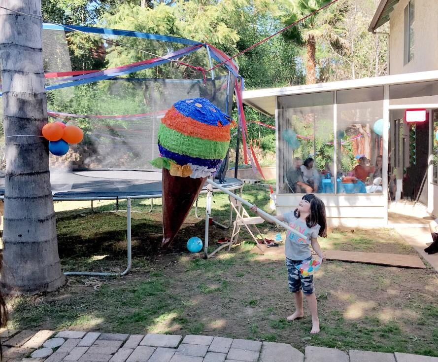Gartenparty für Kinder