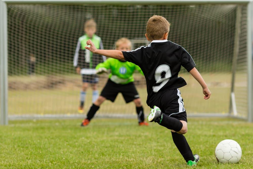 Kinder im Fußballverein