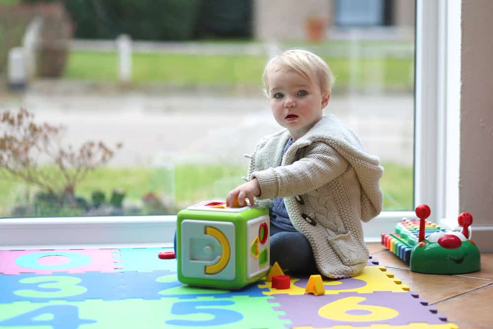 Steckwürfel für Babys
