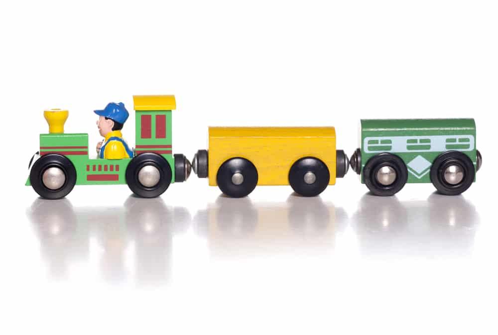 Bekannte Marke Holzeisenbahn