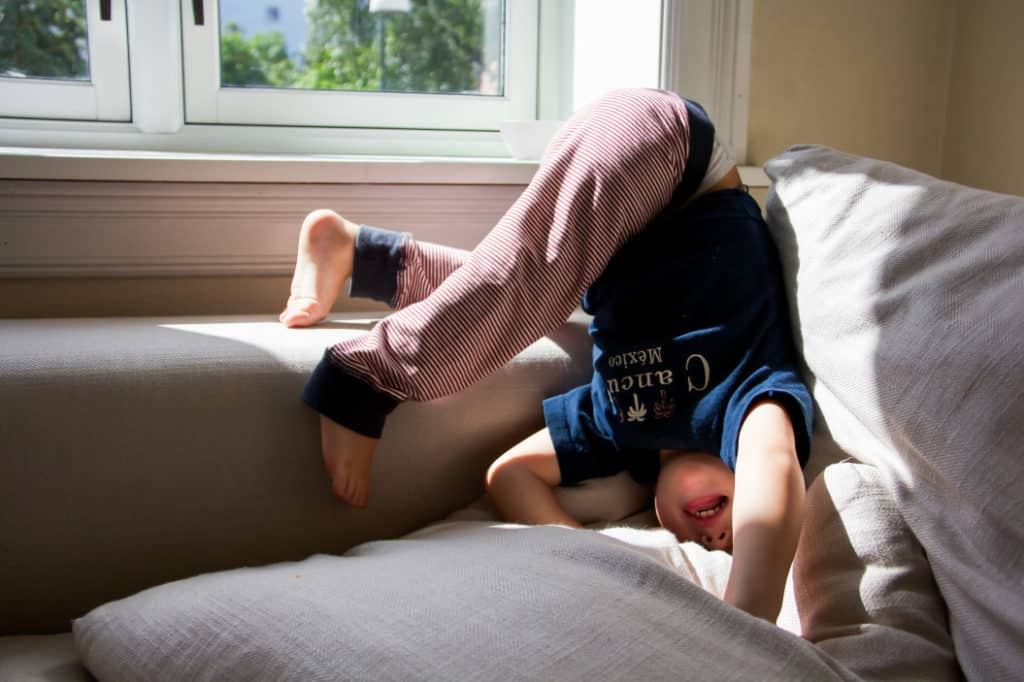 Kind mit Bewegungsdrang