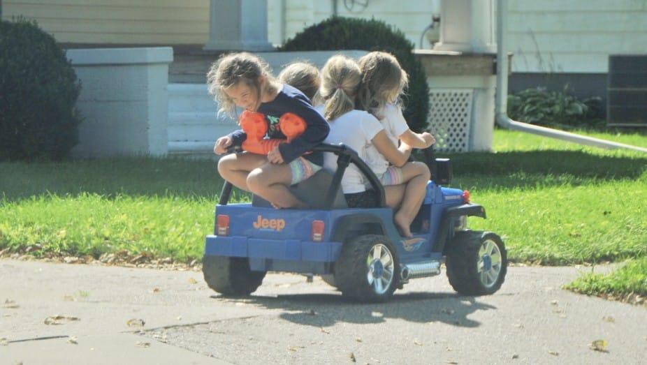 Kinderautos elektrisch