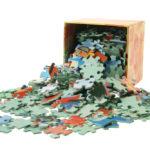 Halbfertige Puzzles sicher aufbewahren
