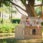 Das Spielhaus im Garten - der ganz persönliche Ort der Kinder