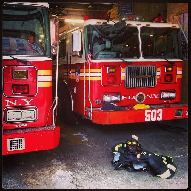 Feuerwehrautos in NewYork