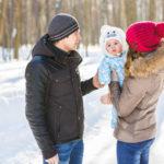 Tipps für Reisen mit Ihrem Baby im Winter