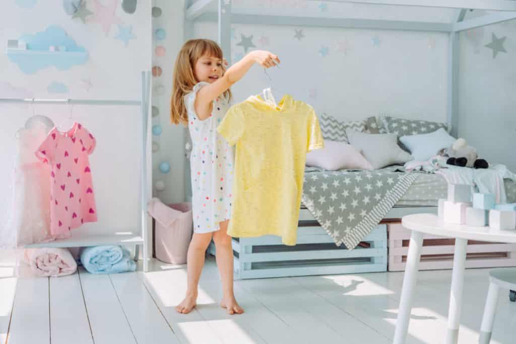 mitwachsendes Kinderzimmer für Mädchen